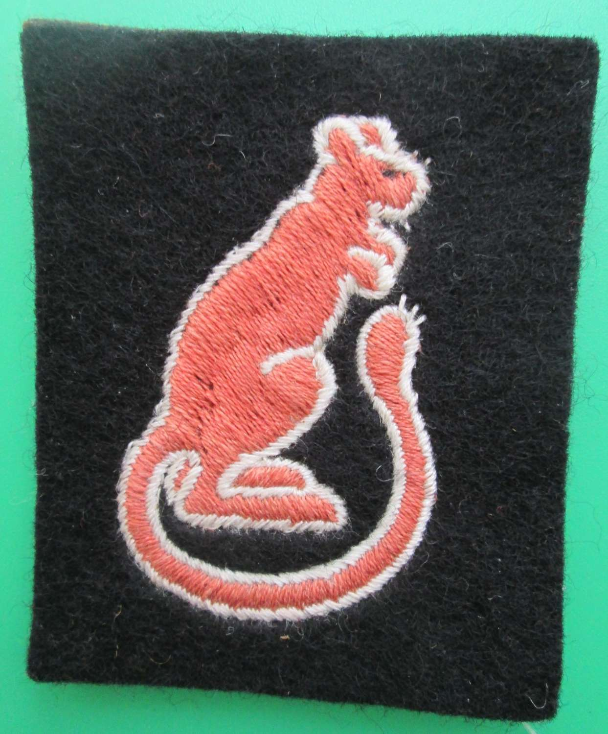 A 7TH ARMOURED DIVISION FORMATION SIGN