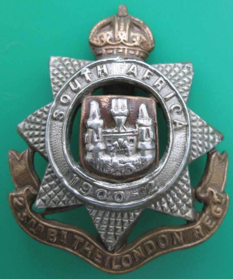 23RD BATTALION LONDON REGIMENT CAP BADGE