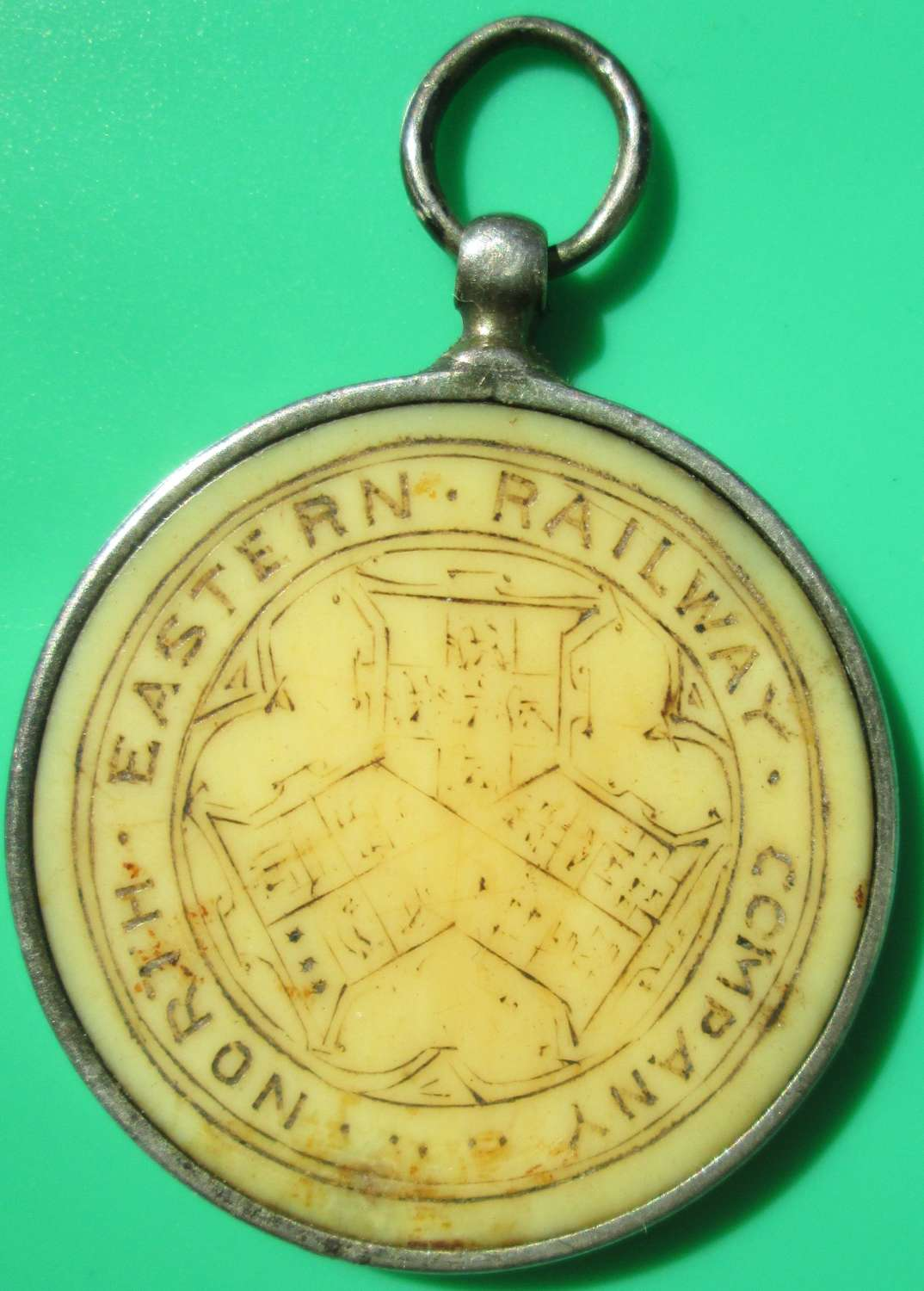 A RARE 1860'S PERIOD NORTH EASTERN RAILWAYS DRIVERS / CONDUCTORS PASS