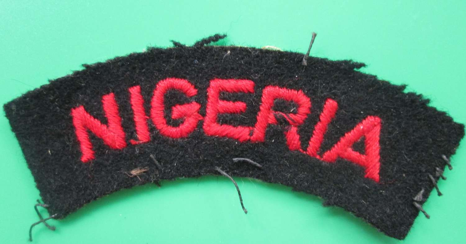 A NIGERIA SHOULDER TITLE
