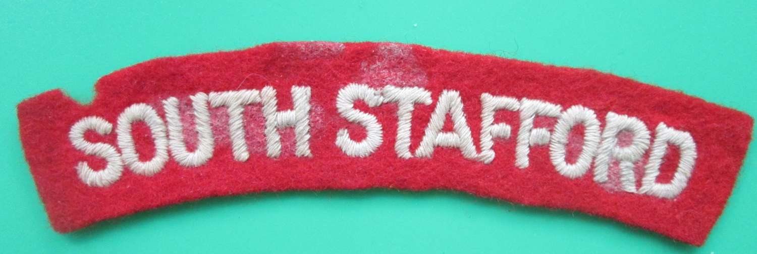 A SOUTH STAFFORD SHOULDER TITLE
