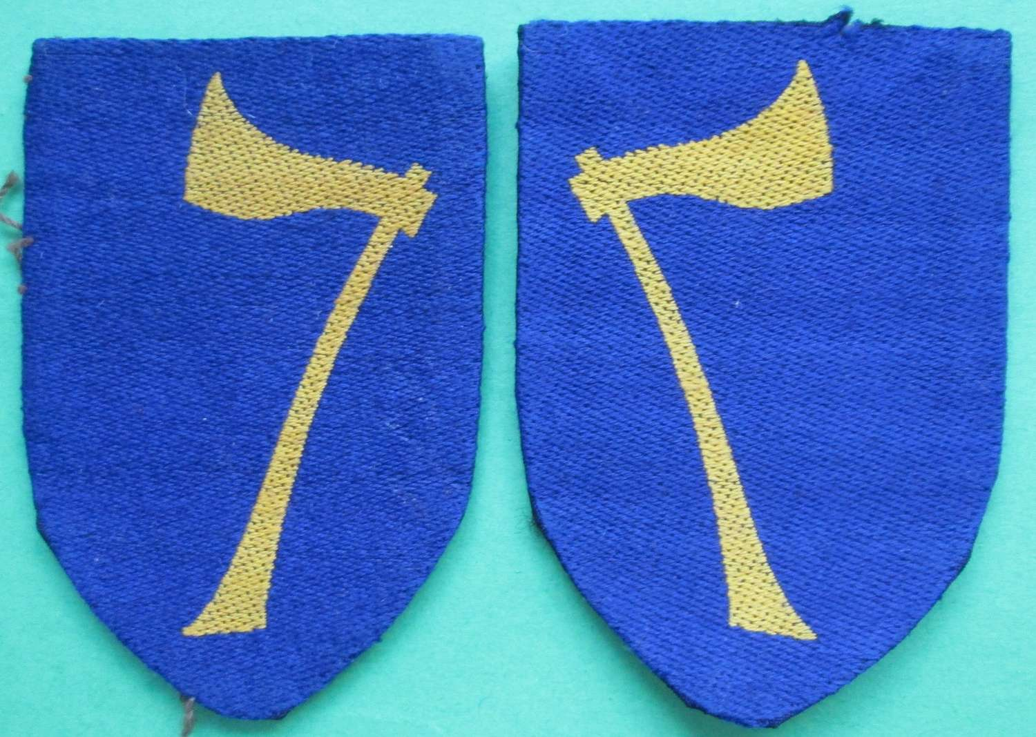 A PAIR OF NORTHERN ARMY GROUP FORMATION SIGNS