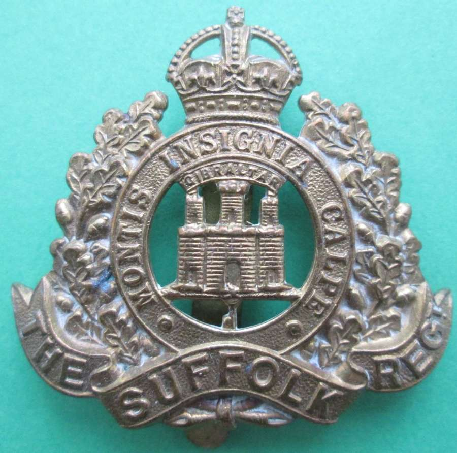 CAP BADGE FOR THE SUFFOLK REGIMENT