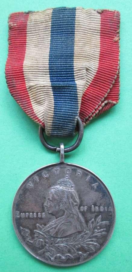 AN ARMY TEMPERANCE ASSOCIATION 1901 QUEEN VICTORIA MEDAL