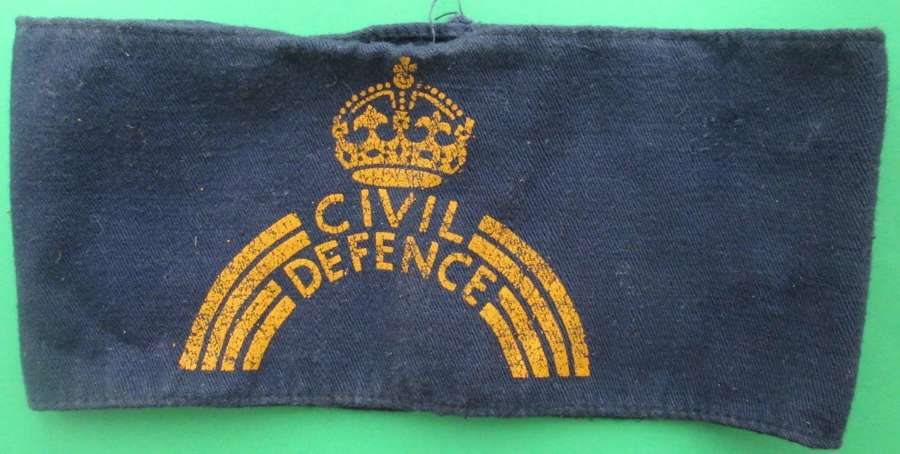 A CIVIL DEFENCE ARM BAND