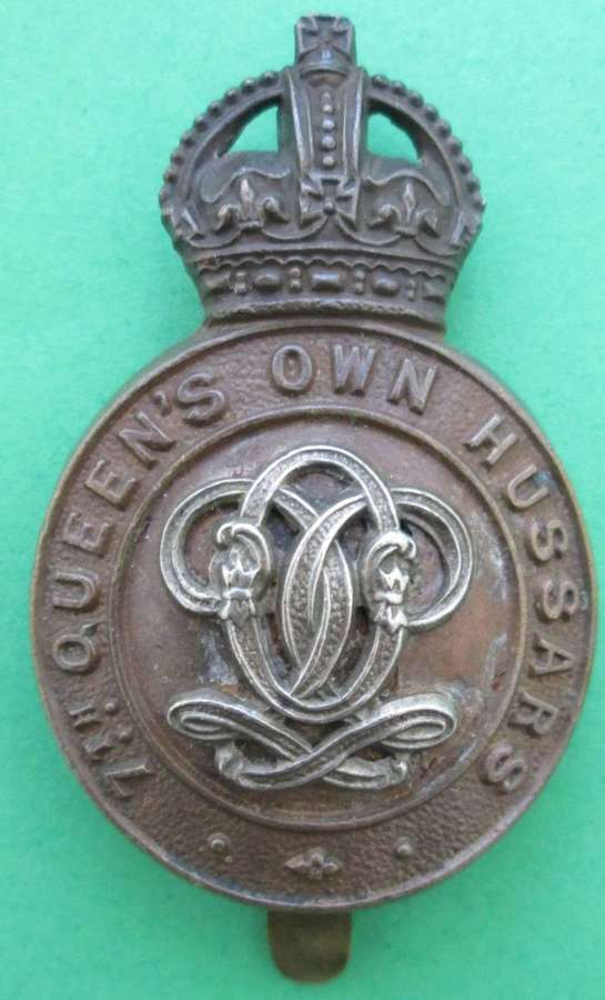 7TH THE QUEEN'S HUSSARS CAP BADGE