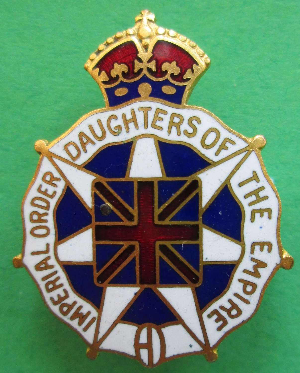 PIN BROOCH IMPERIAL ORDER DAUGHTERS OF THE EMPIRE