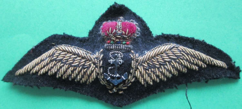 A GOOD USED POST 1952 FLEET AIR ARM PILOTS WINGS