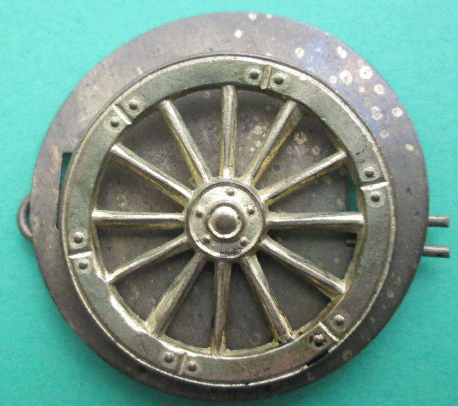 METAL WHEELER, WAGON AND CARRIAGE REPAIRER TRADE BADGE