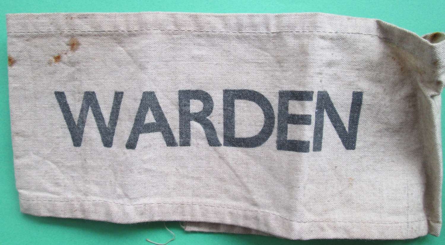 A WARDENS ARM BAND