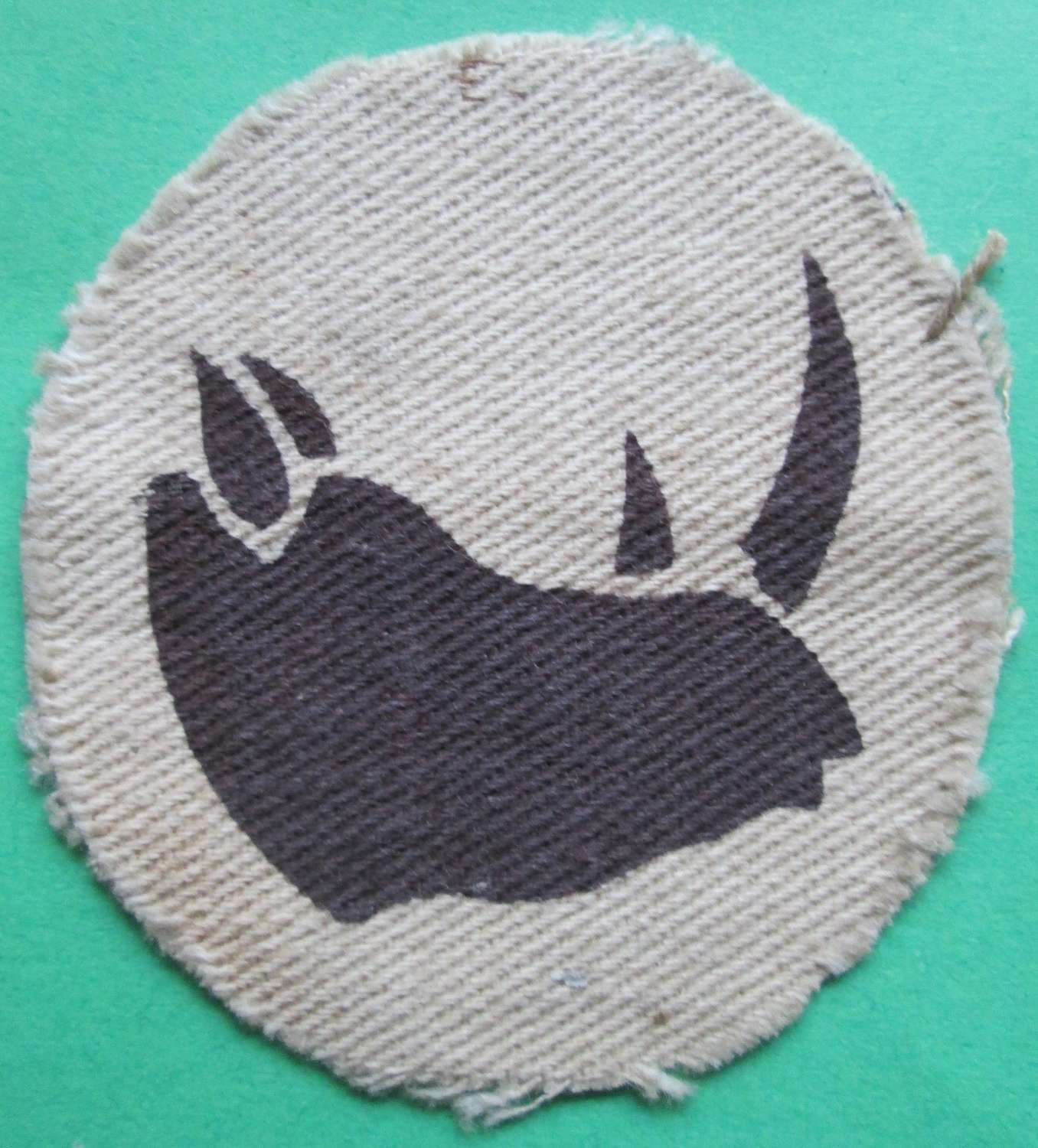 A SCARCE WWII  11 (EAST AFRICAN ) DIVISION PATCH