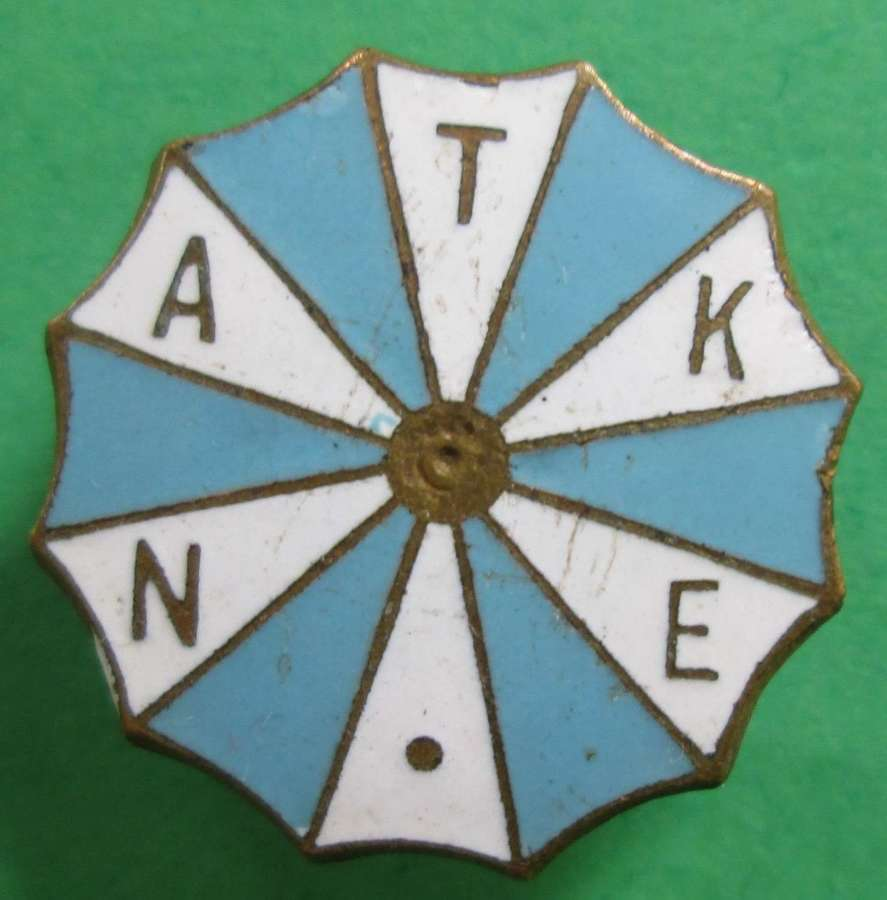 A NATIONAL ASSOCIATION OF THEATRICAL AND KINE EMPLOYEES BADGE