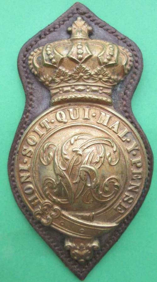 A VICTORIAN HORSE BREAST PLATE