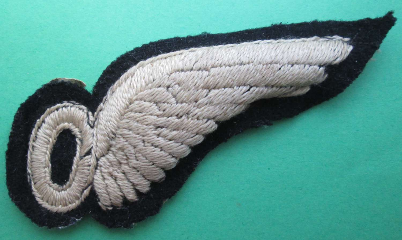 WWII PERIOD RAF OBSERVERS BREVET
