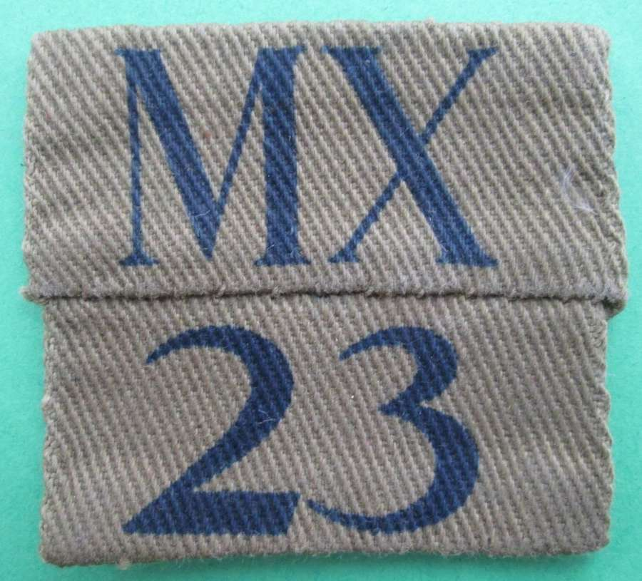 HOME GUARD INSIGNIA FOR MIDDLESEX BATTALION