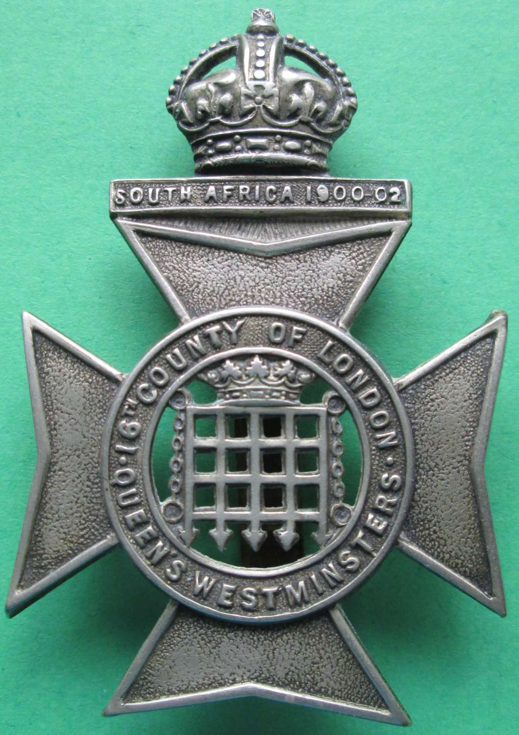16TH (COUNTY OF LONDON) BATTALION (QUEEN'S WESTMINSTER RIFLES)