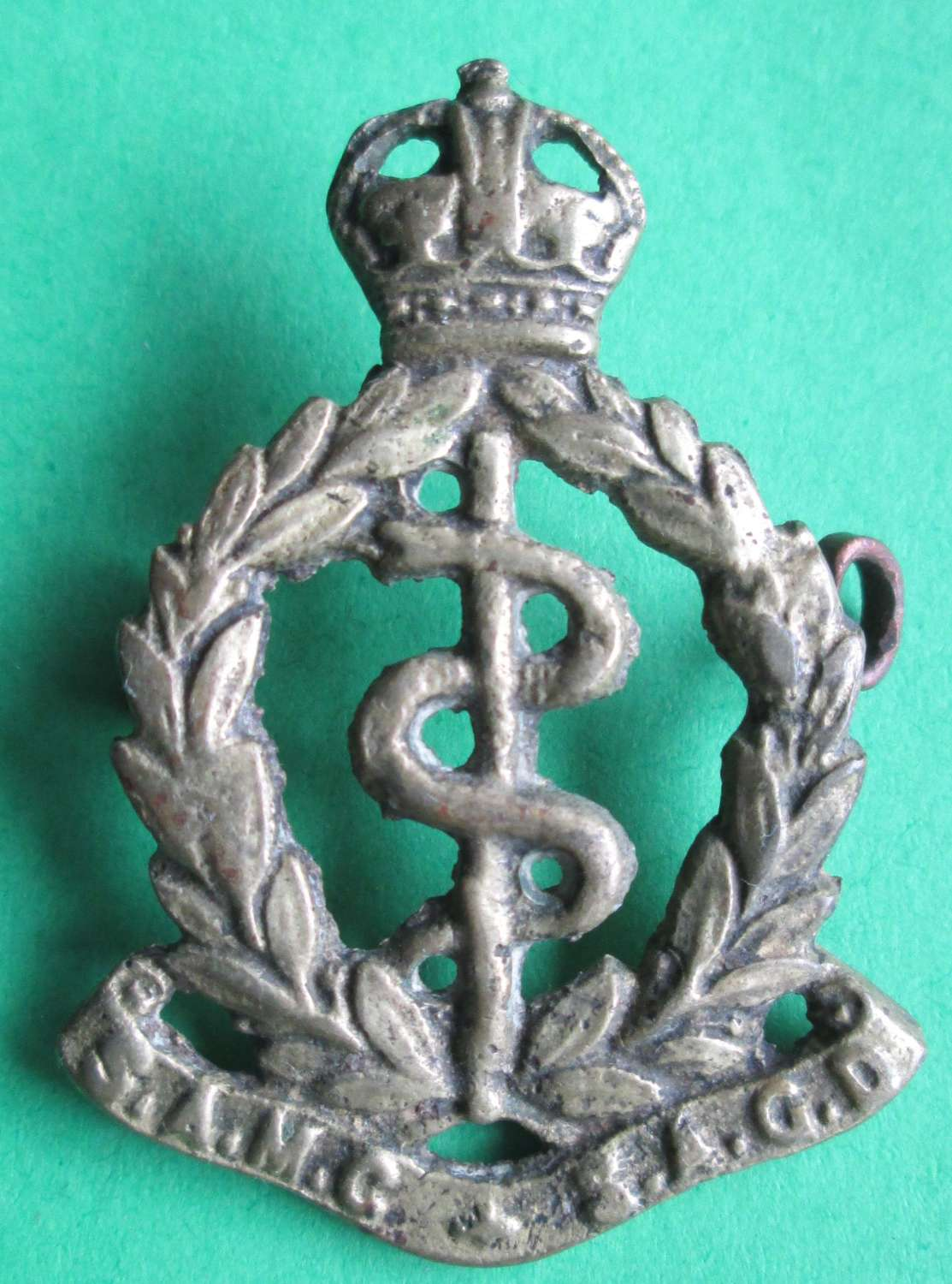 SOUTH AFRICAN MEDICAL CORPS CAP BADGE