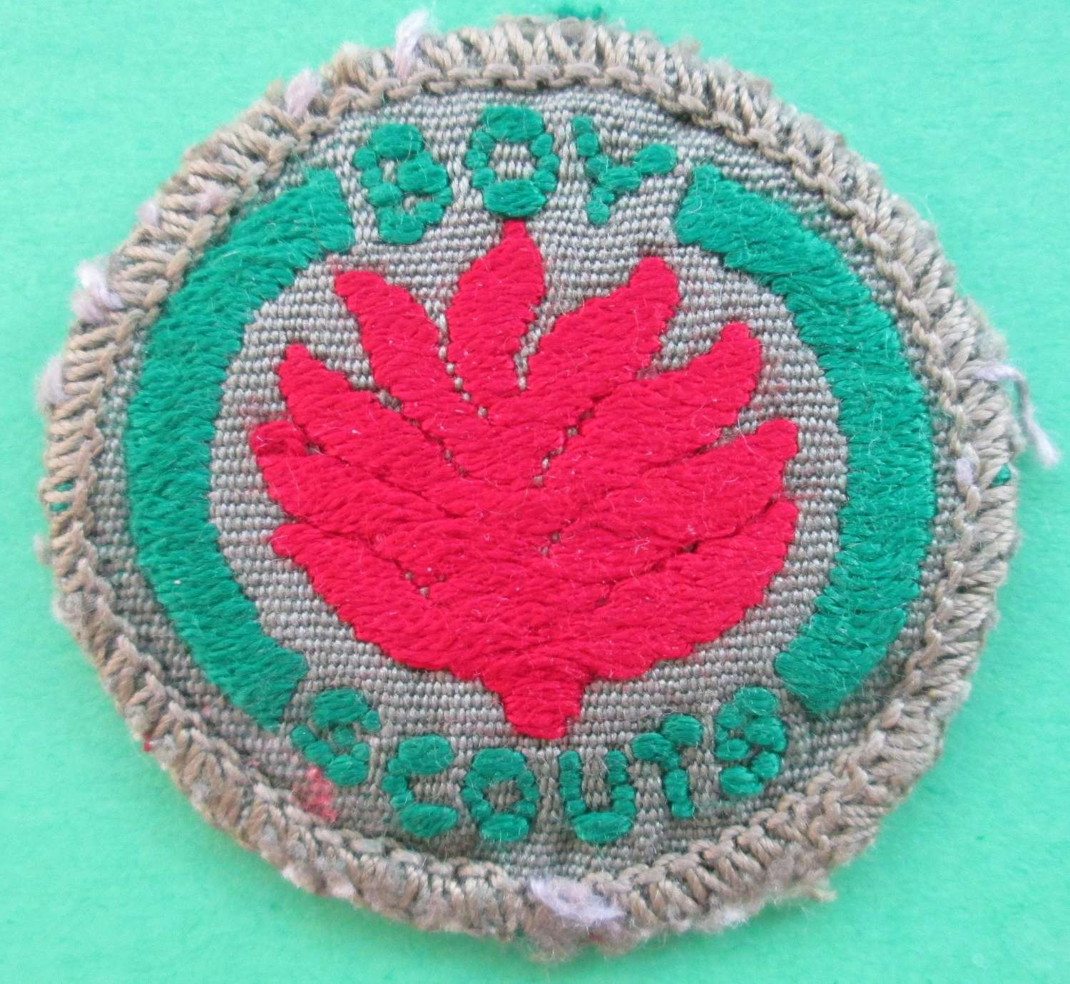 GOOD BOY SCOUTS FIRE SAFETY BADGE